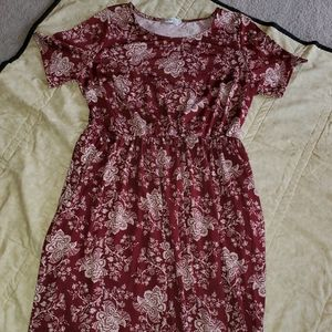 Honey and lace dress
